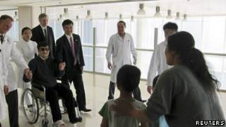 Mwanaharakati wa Uchina Chen Guangcheng