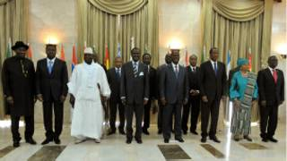 Une réunion des chefs d'Etat de la Cédéao en mai 2012.