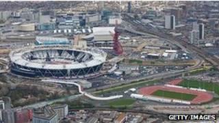 Estádio olímpico de Londres