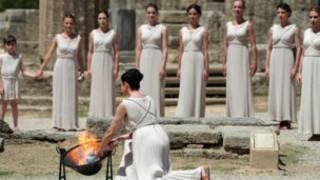 奧運聖火取火儀式