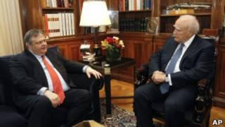 Tổng thống Hy Lạp trong nỗ lực lập chính phủ khẩn cấp