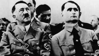 آدولف هیتلر و رودلف هس
