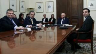 اجتماع لقادة الأحزاب اليونانية