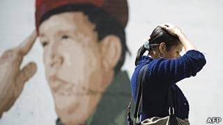 Chávez/AFP