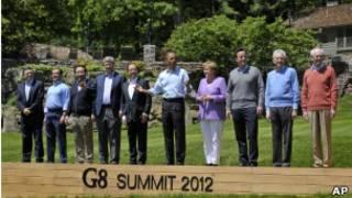 Shugabannin kasashen G8