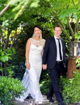 زوكربرغ وعروسه