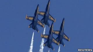 Aviões da Marinha dos EUA