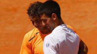 Nadal na Djokovic