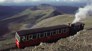 Mount Snowdon in North Wales