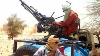 Wasu 'yan tawayen Arewacin Mali