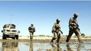 ناټو سرتېري افغانستان کې