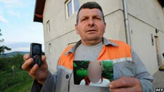 Sead Makalic, que denunciou a situação à polícia (AFP/Getty)