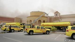 Пожар в Катаре