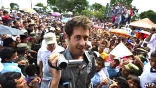 Roméo Langlois. AFP
