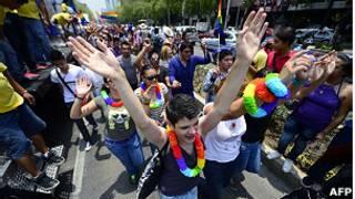 Marcha de orgullo gay en México
