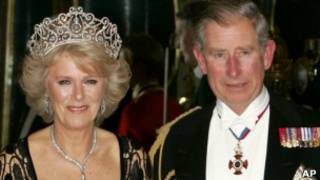 Принц Чарльз и его супруга герцогиня Корнуольская