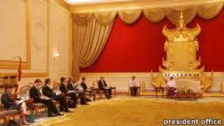 Ngoại trưởng Bob Carr hội kiến Tổng thống Thein Sein