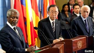 Ban Ki Moon na Koffi Annan