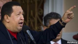 Chávez habla de su enfermedad.