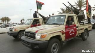 قوات شرطة ليبية
