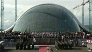 Новое здание парламента Грузии в Кутаиси