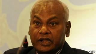 Sri Lanka Cricket President Upali Dharmadasa
