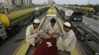 رانندگان پاکستانی