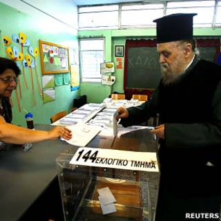 Eleição na Grécia