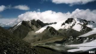 Горы на казахской границе