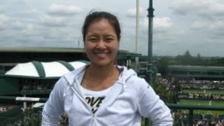 中國網球女將李娜