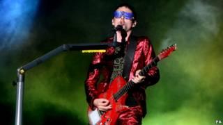 Muse 乐队主唱马特.贝拉米