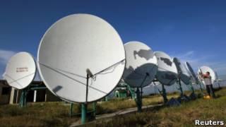 Антенны компании Global TV близ Тбилиси