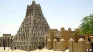 Архитектурные памятники Тимбукту (архивное фото)