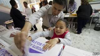 Eleitores no México (AFP)