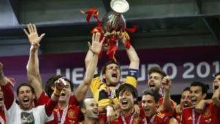 Tuyển Tây Ban Nha vô địch châu Âu