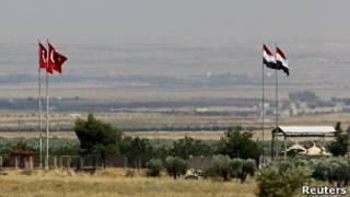 مرز ترکیه و سوریه