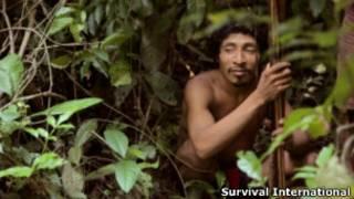 Indio aiwá (Foto Survival Internationa)