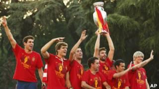 احتفالات في مدريد