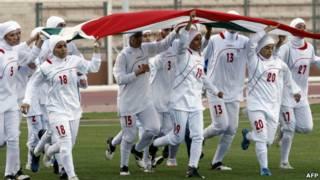 Pemain sepak bola perempuan Iran