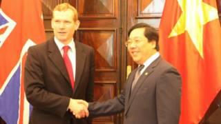 Thứ trưởng Ngoại giao hai nước