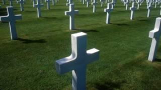 військовий цвинтар у Нормандії