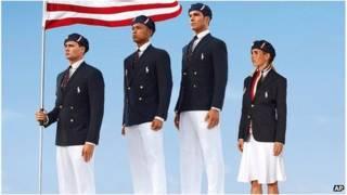 Đồng phục tuyển Olympics Mỹ