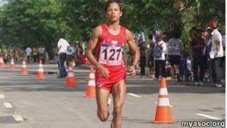 Nilar San, Burmese Olympian