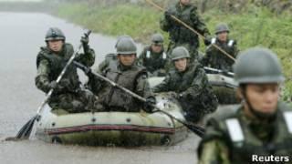 Nhật Bản tìm kiếm người mất tích do lụt