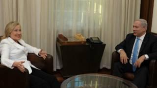 Хиллари Клинтон и Биньямин Нетаньяху