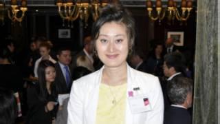 倫敦中國工商協會主管石鈺婷
