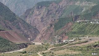 Работы на строительстве Рогунской ГЭС приостановлены