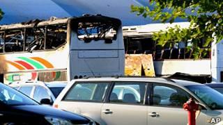 Ataque bus Bulgaria
