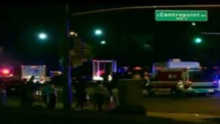 Lokasi penembakan di Denver