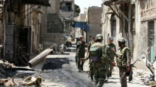 ciidamada dowladda Syria